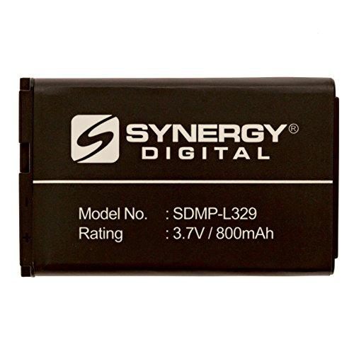 LG 440G Cell Phone Battery Li-Ion, 3.7 Volt, 800 mAh, Ultra Hi-Capacity Battery - Replacement For LG LGIP-531A Cellphone Batteries