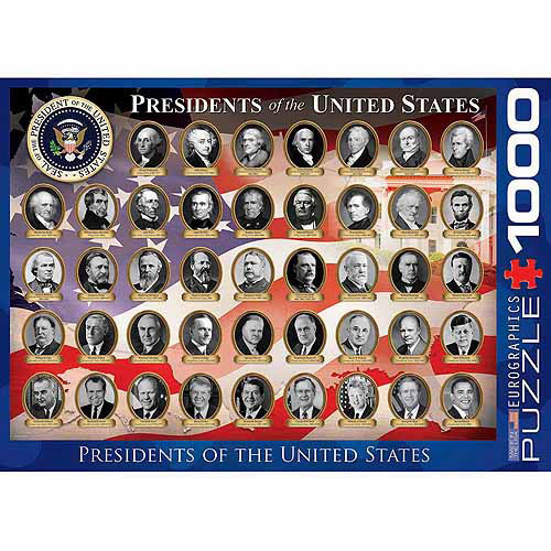 EuroGraphics US Presidents 1000-Piece Puzzle by Generic