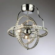 Katies 6-light Crystal Chandelier