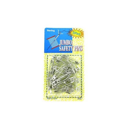 Jumbo Safety Pins - Set of 24