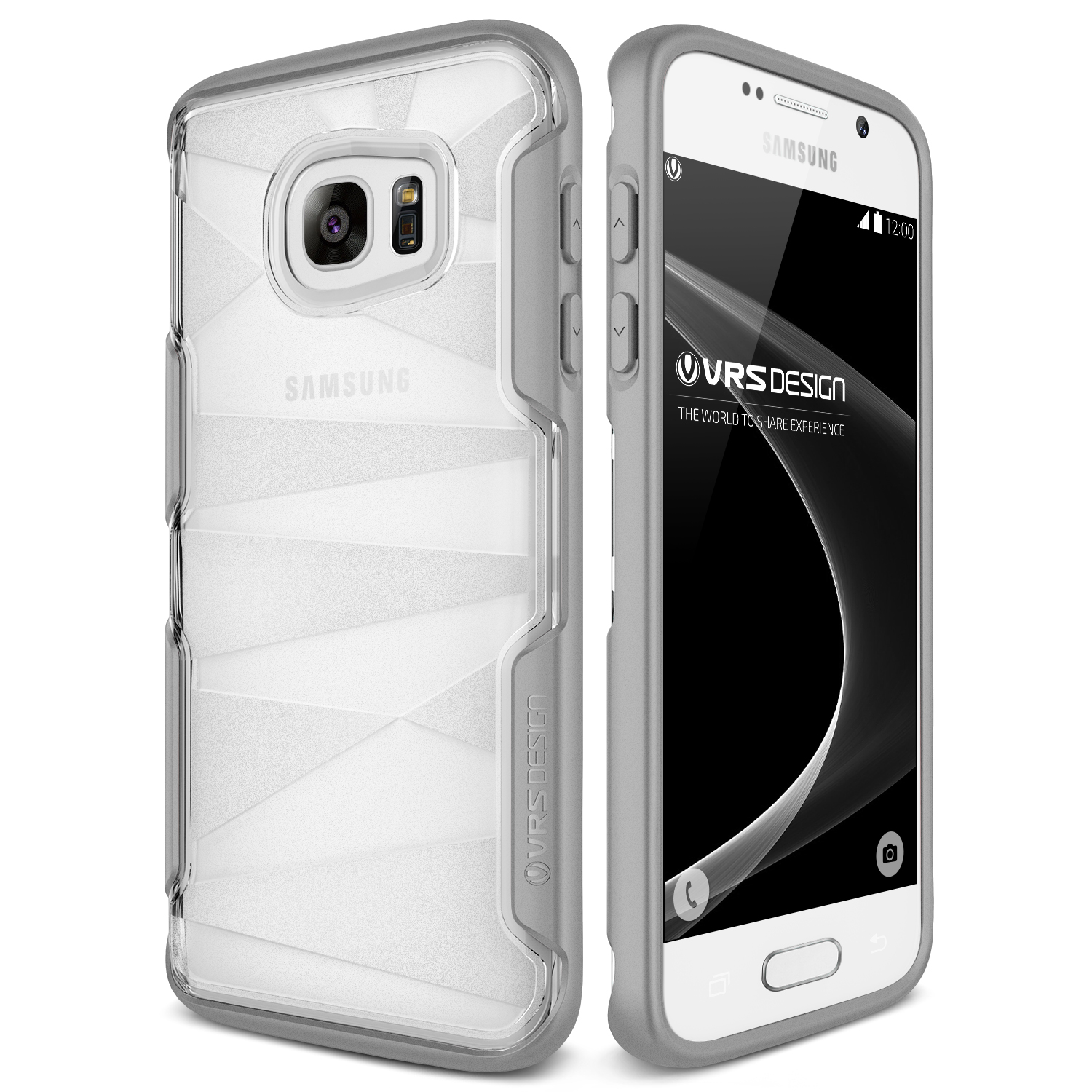 Samsung Galaxy S7 Case Cover | Slim Clear Protection | VRS Design Shine Guard for Samsung Galaxy S7