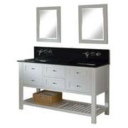 Direct Vanity Sink Mission Spa Premium 60D6 60 in. Double Bathroom Vanity