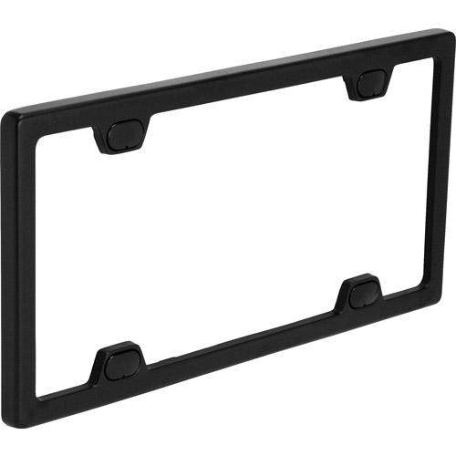 Bell Windstream Black License Plate Frame