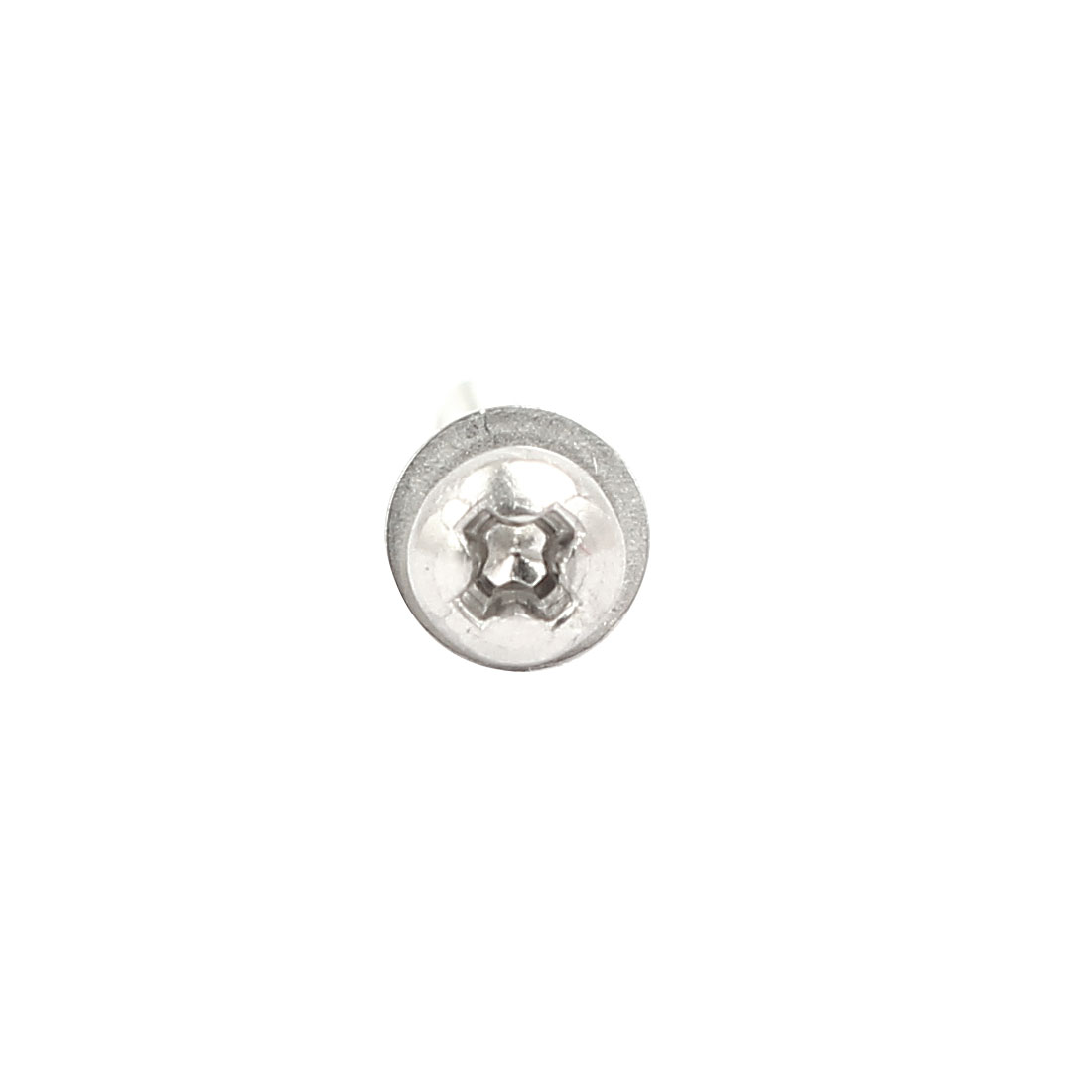 M2x16mm 304 Stainless Steel Phillips Pan Head Bolt Screw Nut w Washer 18 Sets - image 3 of 4