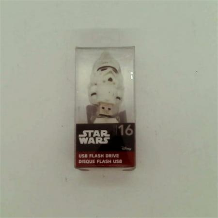 2 Star Drive - Star Wars 16 GB Flash Drive Storm Trooper
