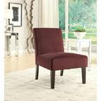 Dani Armless Accent Chair Multiple Colors Walmart Com