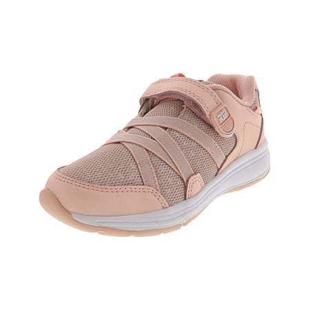 Stride Rite Made 2 Play Emmy Dusty Pink Ankle-High Leather Fashion Sneaker - 3W ()