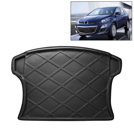 Auto Rear Cargo Floor Mat Trunk Tray Protector for Mazda CX-7 2007-2016, Black