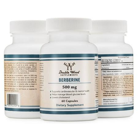 Berberine Complex (Berberine HCL 500mg, Complex Extract Supplement, 60 Capsules )