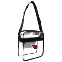 Little Earth - NFL Clear Carryall Cross Body Bag, Arizona Cardinals