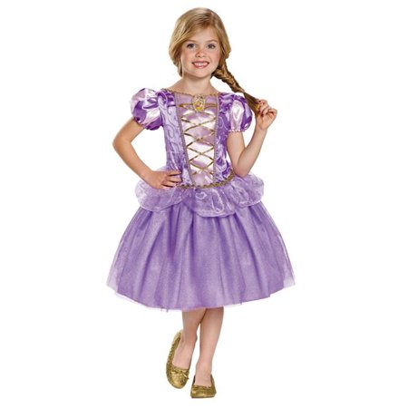 Morris Costumes DG98478M Rapunzel Classic Toddler Costume, Size 3 - 4 (Tall Size Costumes)