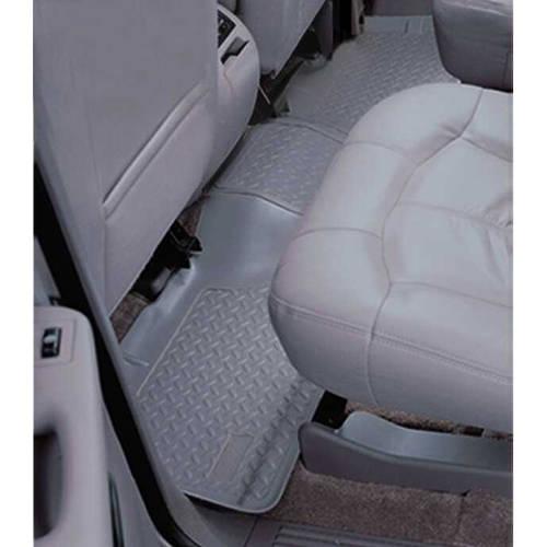 07-13 Silverado/Sierra 1500/07-14 2500/3500 Crew Cab 2nd Seat Floor Liners -, Grey