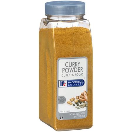 McCormick Culinary Curry Powder, 16 oz (The Best Curry Powder)