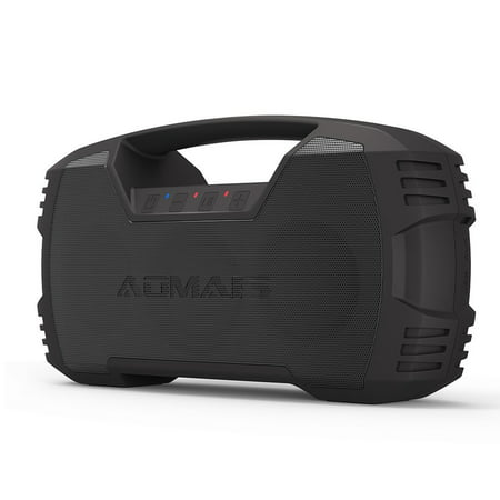 AOMAIS GO Bluetooth Speakers,Waterproof Portable Indoor/Outdoor 30W Wireless Stereo Pairing Booming Bass Speaker,30-Hour Playtime with 8800mAh Power Bank-Black Friday