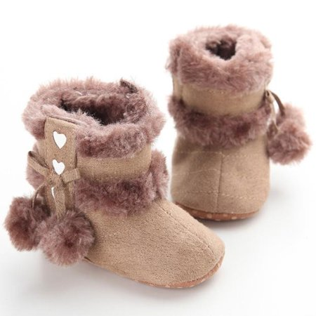 Baby Soft Sole Snow Boots Soft Crib Shoes Toddler Boots - Villain From Snow White