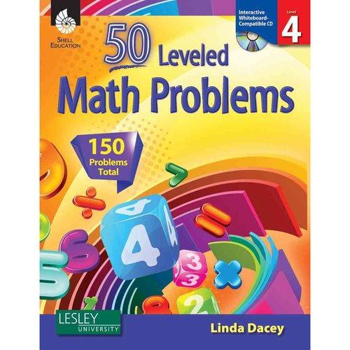 50 Leveled Problems, Level 4 [With CDROM]
