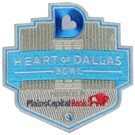 Plains Capital Bank Heart Of Dallas Bowl Game Jersey Patch  2014 Unlv Vs  North Texas