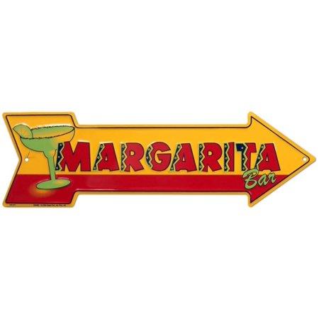 Margarita Bar Tin Sign - 20x6 Tradition Tin Sign