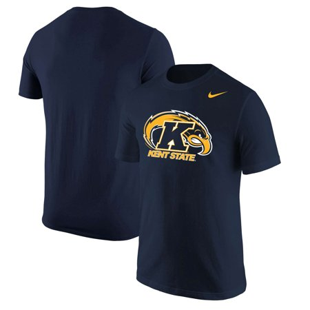 sale retailer 74f1f 7b5c3 Kent State Golden Flashes Nike Big Logo T-Shirt - Navy