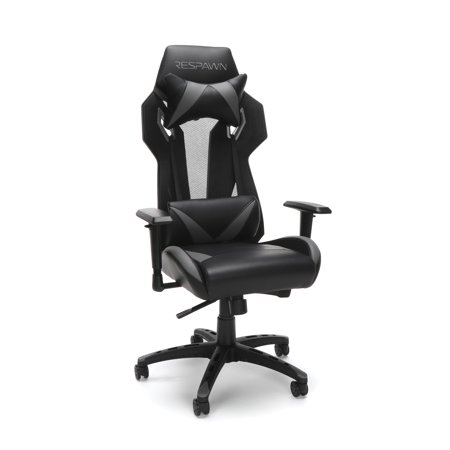 RESPAWN-205 Racing Style Gaming Chair - Ergonomic Performance Mesh Back Chair, Office or Gaming Chair, Gray (RSP-205)