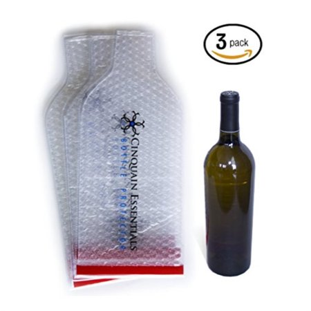 905d637c5551 Reusable Wine Bag Bottle Protector for Travel 3 Pack. Wine ...