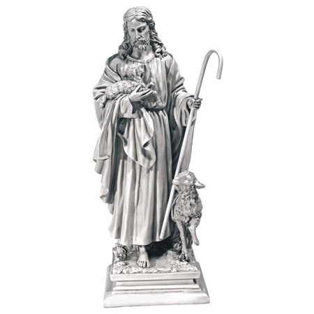 Design Toscano Jesus, The Good Shepherd Garden Statue: