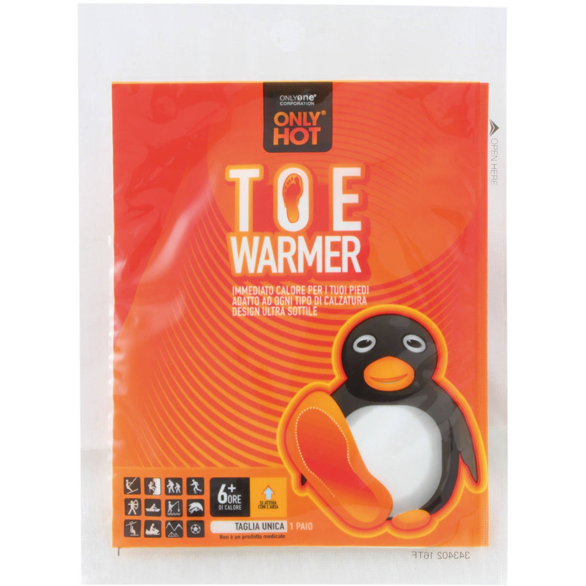 Only Hot Toe Warmer by Generic