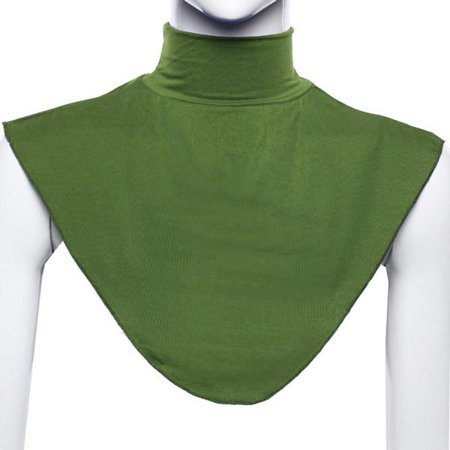 Islamic Muslim Hijab Extensions Neck Chest Back Cloak Cover Scarf Under Half Top ()