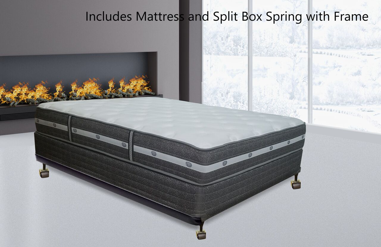 Continental Sleep, 11-inch Fully Assembled Innerspring Mattress and ...