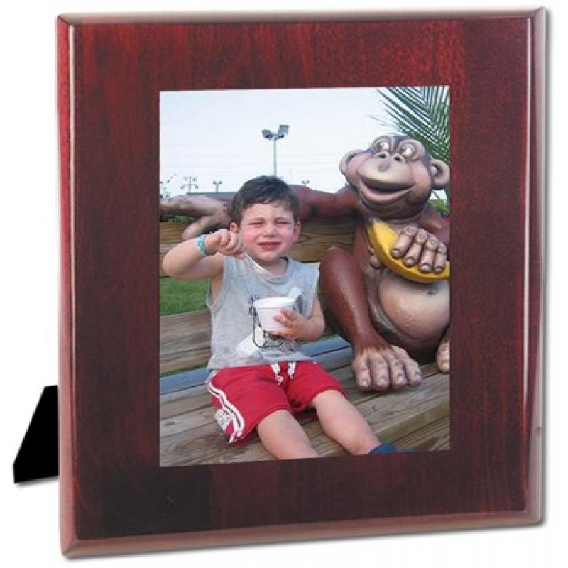 Natico Polished Oiano Finished Mahogany Wood Photo Frame (4x6) (60-W04PF)