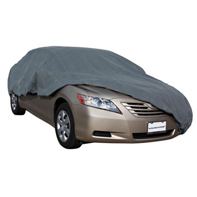 PilotBully CC6024 Tri-Tech Triple Layer Car Cover, 201-208 inch