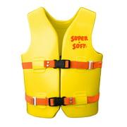 Texas Rec Supersoft Swim Life Vest Medium 26-29in. - Yellow