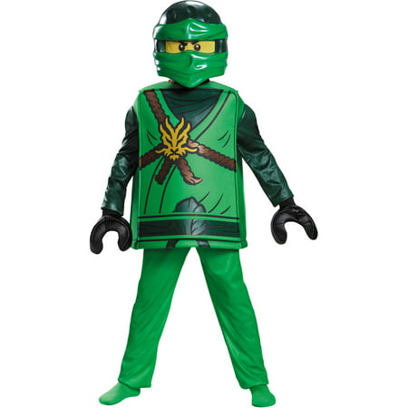 LEGO® Ninjago Lloyd Deluxe Costume for Kids - Diy Ninjago Costume