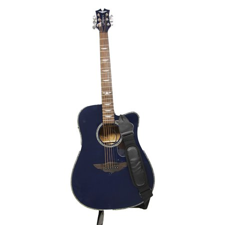 Keith Urban Player- Right Hand Acoustic/Electric Guitar + Gig Bag (Midnight Blue) (Keith Urban Halloween)