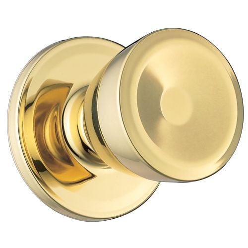 Weiser Lock GAC12B Beverly Single Dummy Door Knob from the Elements Series
