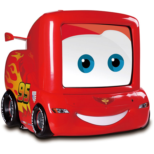 "Disney Cars 2 13"" TV with DVD Player"