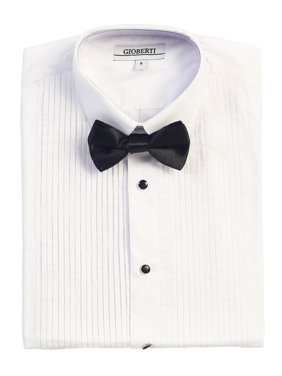 49c2f9cb6 Product Image Gioberti Boy's Formal Tuxedo White Shirt with Bow Tie