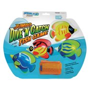 Poolmaster Jumbo Dive N Catch Fish Game for Swimming Pools
