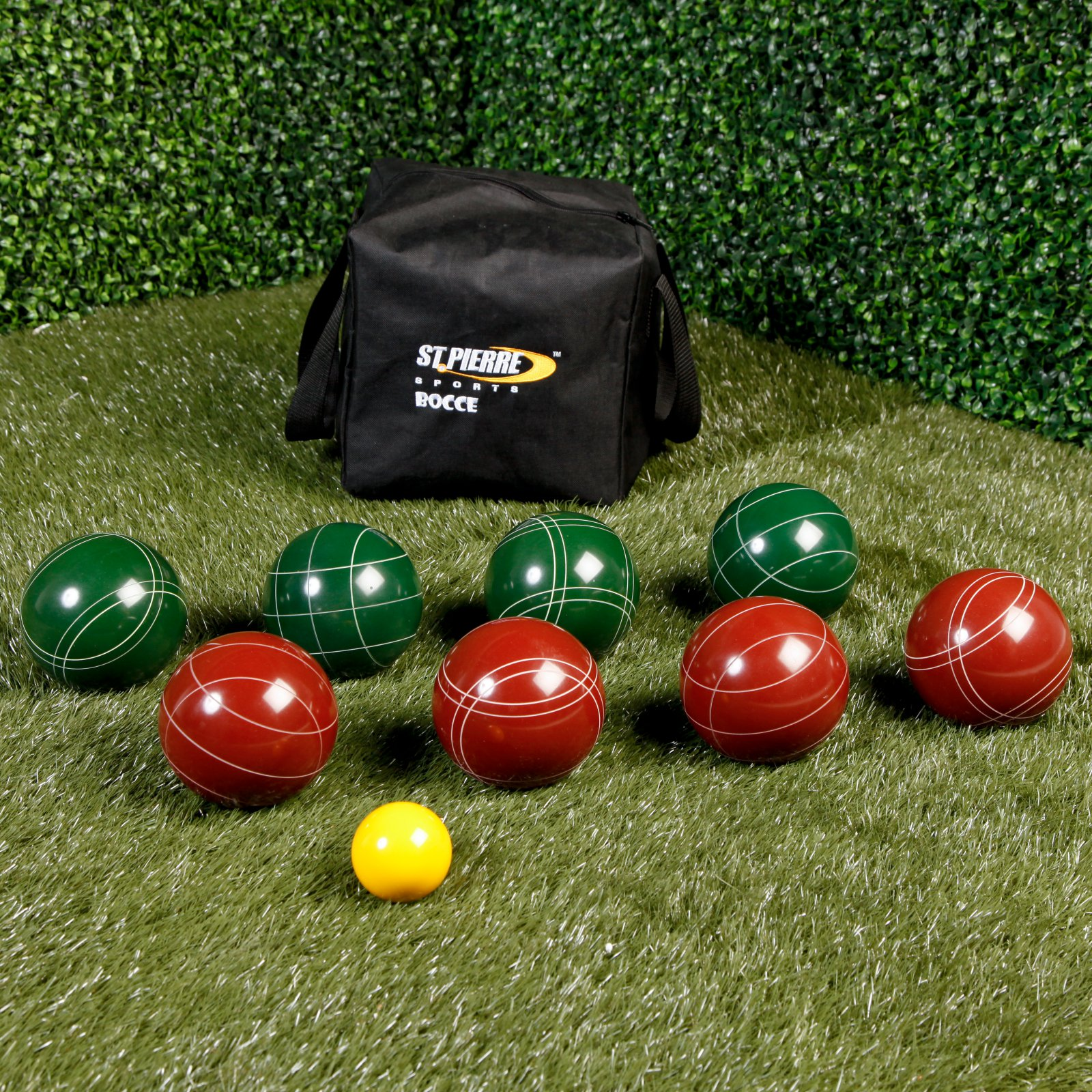 St. Pierre Official Tournament 107mm Bocce Set