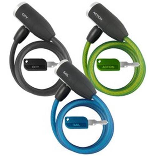 Howard Berger Co.  CL-606-A1 MatchKey WLX Bike Lock 8. 0x5. 0x1. 5 Asst