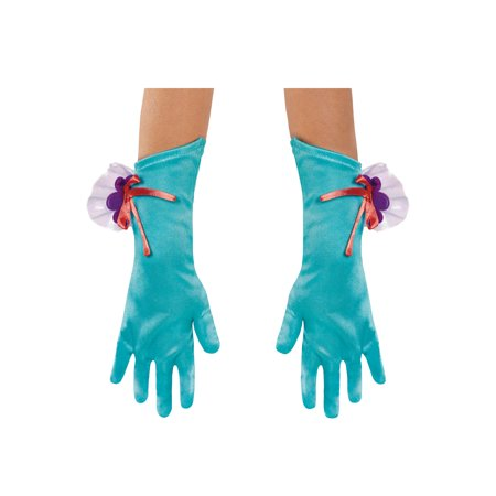 Ariel Costume For Toddler (Disney's The Little Mermaid Ariel Toddler Costume Gloves One)