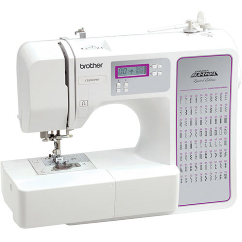 Brother 80-Stitch Limited Edition Project Runway Computerized Sewing Machine