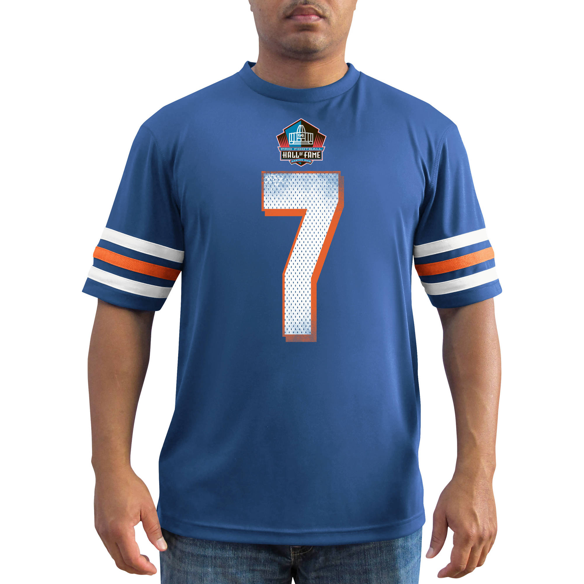 Bigs NFL Men's Denver Broncos Elway Synthetic Fashion Tee