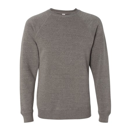 Independent Trading PRM30SBC Unisex Special Blend Raglan Crewneck Sweatshirt