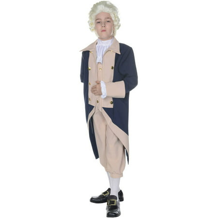 George Washington Boys Child Halloween Costume](Halloween Washington Square Park)