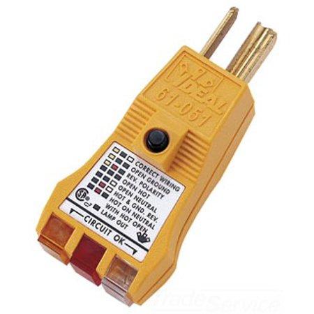 Ideal 61 051 E Z Check Plus Circuit Tester