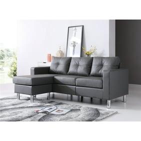 Terrific Gold Sparrow Frankfort Convertible Sectional Sofa Machost Co Dining Chair Design Ideas Machostcouk