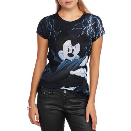 Mickey Mouse Ap S/s Thunderstorm Mickey Sublimated Tee - Disney Mickey Halloween Tickets