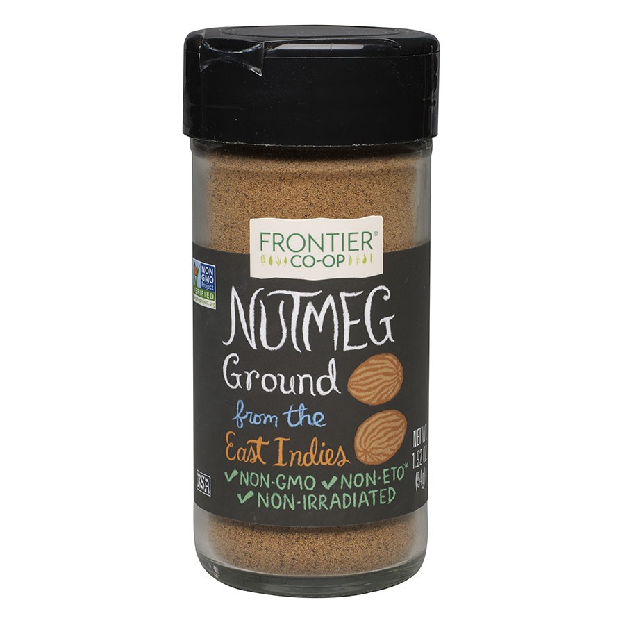 Frontier Natural Products Nutmeg Ground 1.92 oz by Frontier