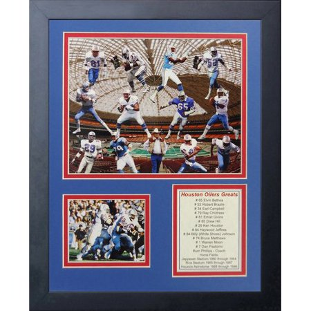 Legends Never Die Houston Oilers Greats Farmed Memorabili